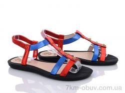 купить Summer shoes A586 red оптом