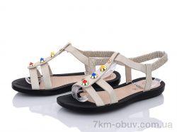 купить Summer shoes A580 beige оптом
