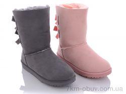 купить Class Shoes ULJ140 mix (розовый,серый) оптом