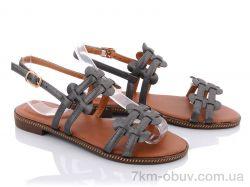 купить Summer shoes T221 pewter оптом