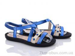 купить Summer shoes A583 blue оптом