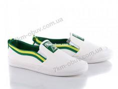 купить ObuvOk A01-1 white-green оптом